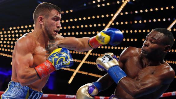 Espn Boxing Pound For Pound Rankings Vasiliy Lomachenko Takes Top