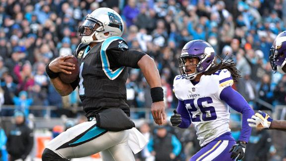 Newton's 62-yard run sets up Panthers' win