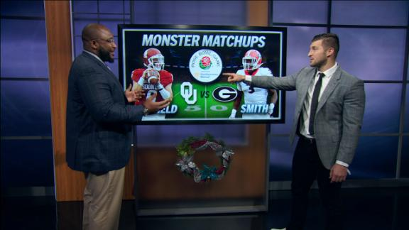 Monster matchups in the CFP semifinals