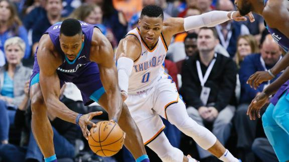 Hornets top Thunder despite Westbrook's 30
