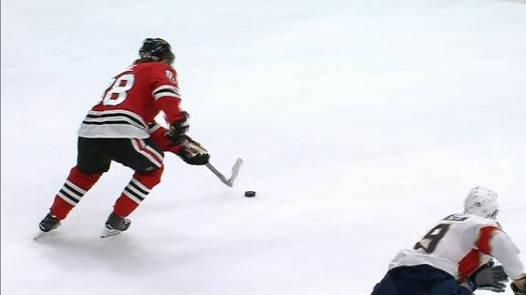 Kane's OT goal lifts Blackhawks to victory