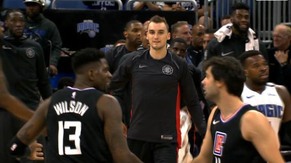 Clippers knock down 4-straight threes