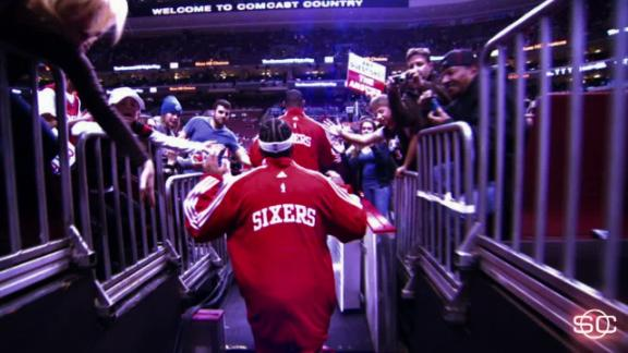 How 76ers fans are 'trusting the process'