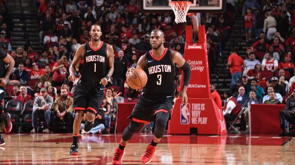 Rockets roll to 12-0 with CP3