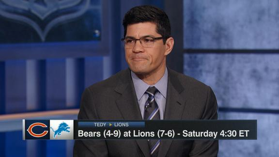 Bruschi picks Lions to win at home