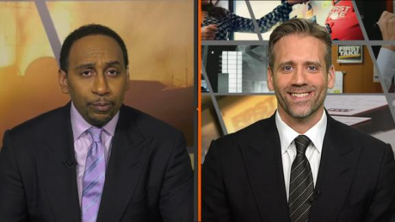 Stephen A.: Packers game 'more important for Cam' than Rodgers