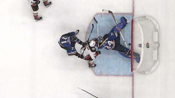 Cogliano's poke check puts Ducks on the board
