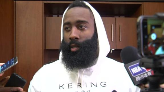 Harden admits he was 'pretty close' to not playing