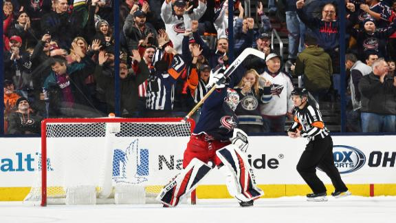 Dubois snaps in shootout game winner for Blue Jackets