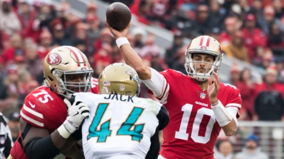 Garoppolo leads 49ers to 4th consecutive win