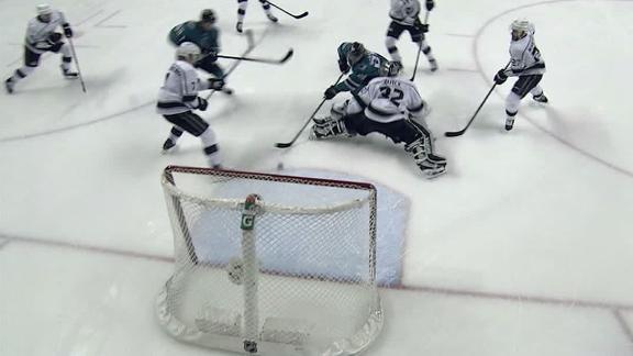 Sorensen taps in goal for Sharks in traffic