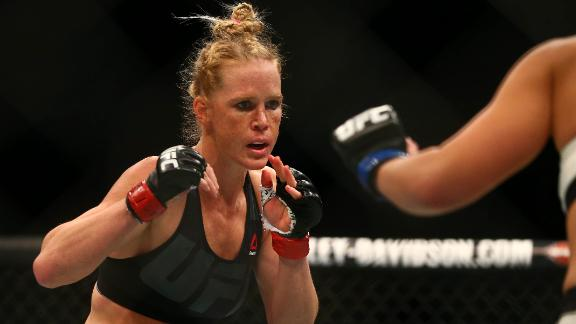 Holm could be greatest UFC fighter ever