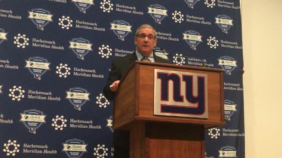 Gettleman: If Eli's game against Eagles was not a mirage, we'll keep moving