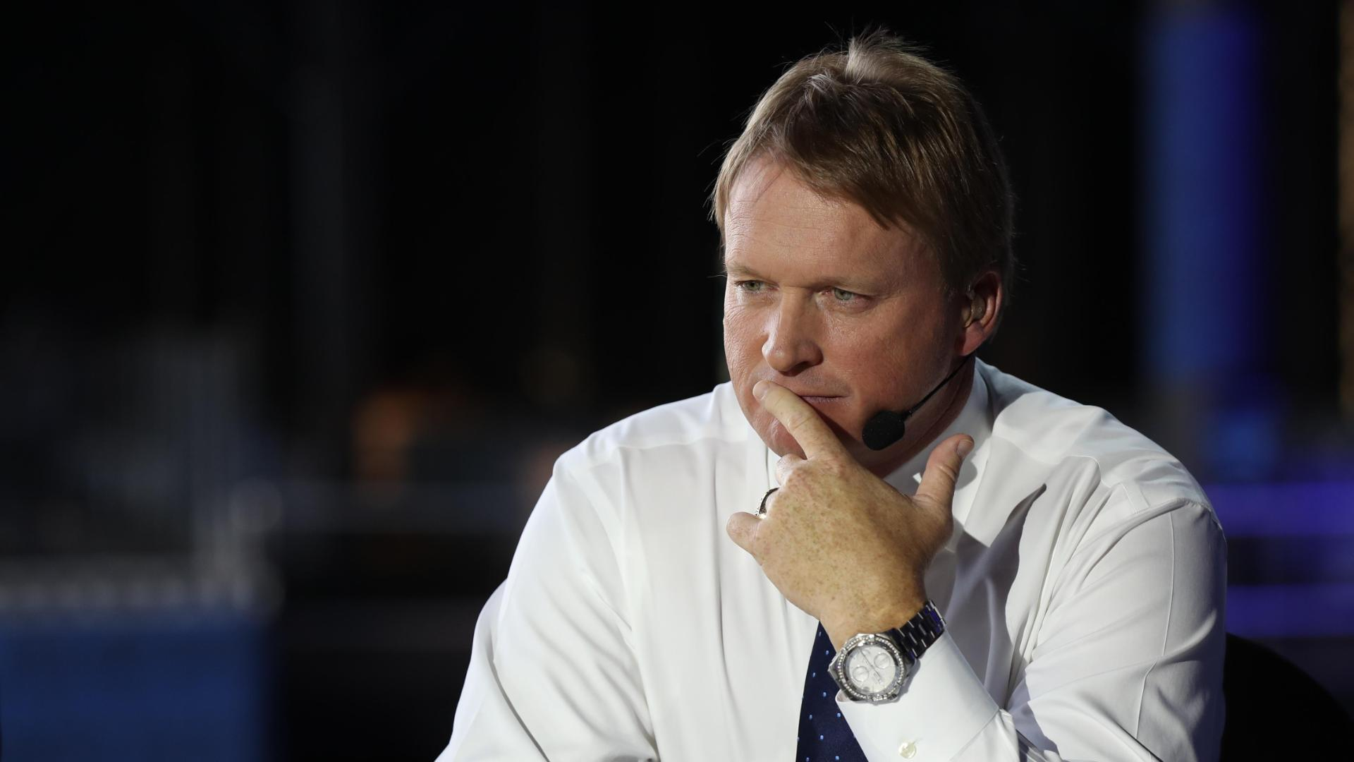 Schefter: Raiders prepared to make Gruden an offer that's 'difficult' to refuse