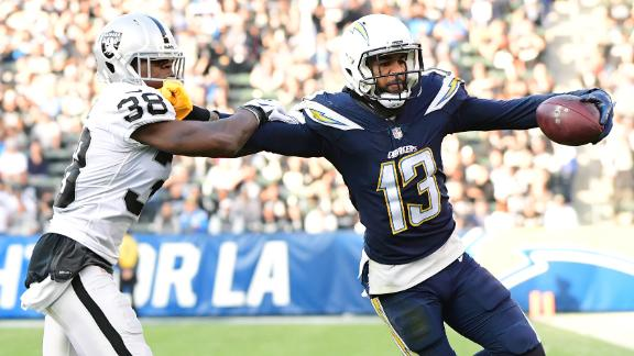 Chargers down Raiders