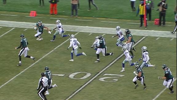 Final play epitomizes Cowboys-Eagles game