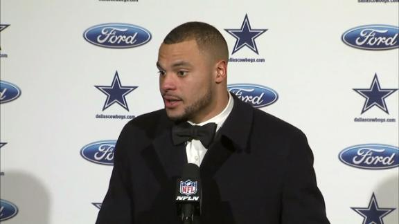 Prescott focused on learning from tough year