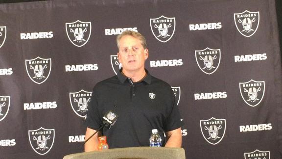 Del Rio fired as Raiders' head coach