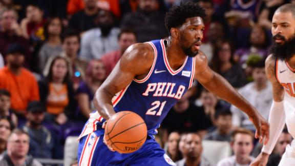 Balanced attack powers 76ers past Suns