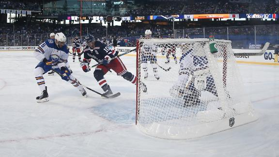 Rangers win Winter Classic in OT