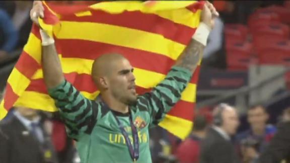 Así despidió el Barcelona a su histórico a