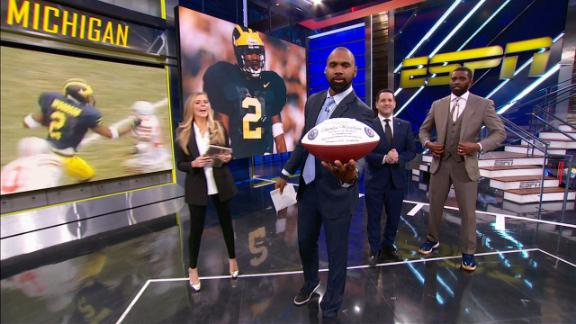 Woodson surprised with honor on NFL Countdown
