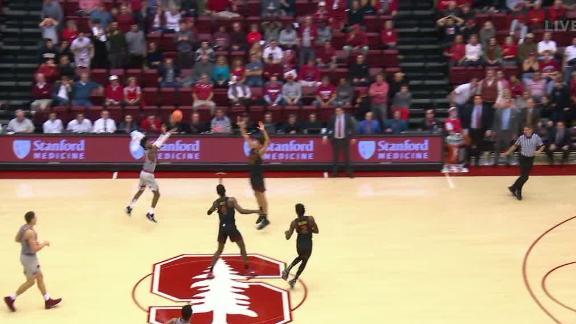 Stanford beats USC on half-court buzzer-beater