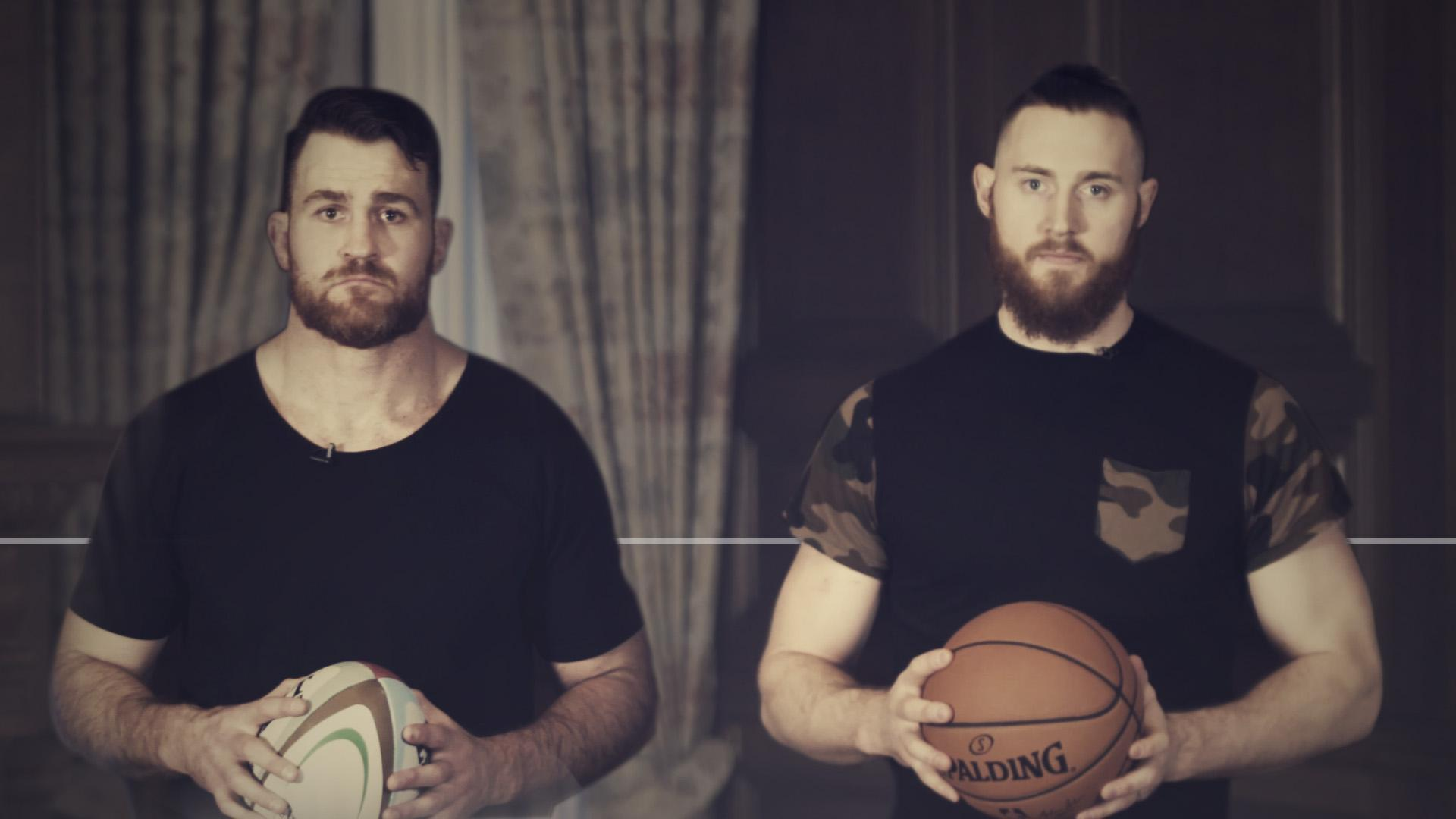 Aussies Baynes and Horwill get excited for the London NBA game