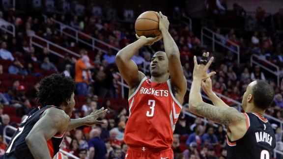 CP3's big night leads Rockets past Blazers
