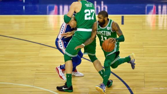 Celtics, 76ers put on a show in London