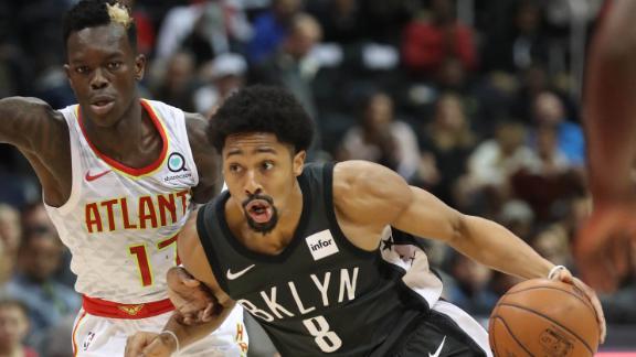 Hawks fall despite Schroder's career night