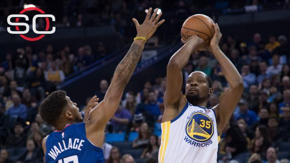Durant adding another spectacular season to storied career