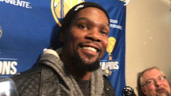 Durant discredits Drake's presence in close game in Toronto