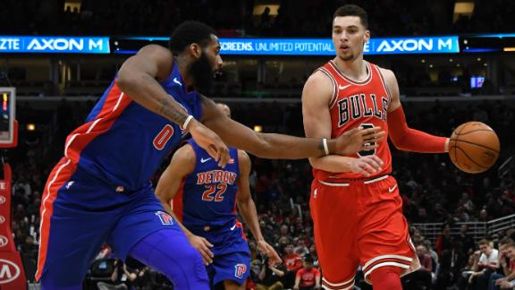 Detroit Pistons at Chicago Bulls live chat