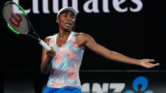 Venus knocked out of Australian Open in first round