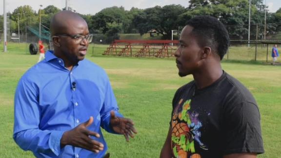 Ngoepe trains and gives advice to Africa's youth