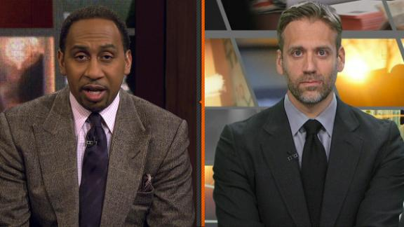 Stephen A.: Cavs-Warriors rivalry 'nonexistent'