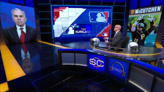 Kurkjian: 'McCutchen is a big upgrade for Giants outfield'
