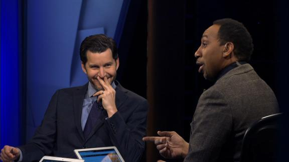 Stephen A. calls out Cain for Tomlin flip-flop