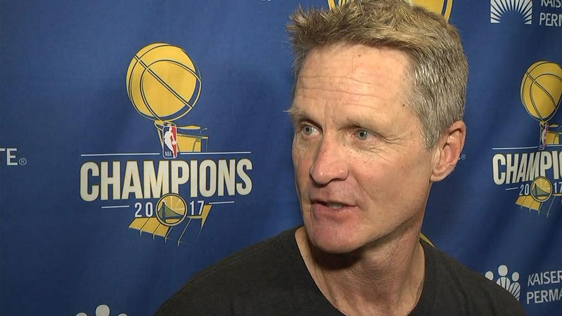 Kerr says Warriors still confident after loss to Rockets