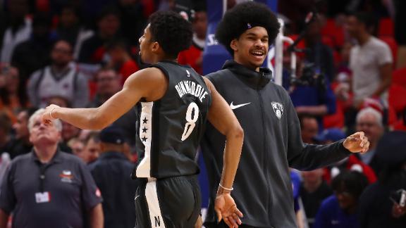 Nets win on Dinwiddie's late bucket