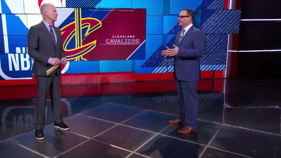 Woj says Cavs' locker room is 'divided'