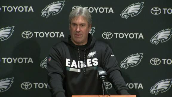 Pederson: Eagles' focus is to 'win today'