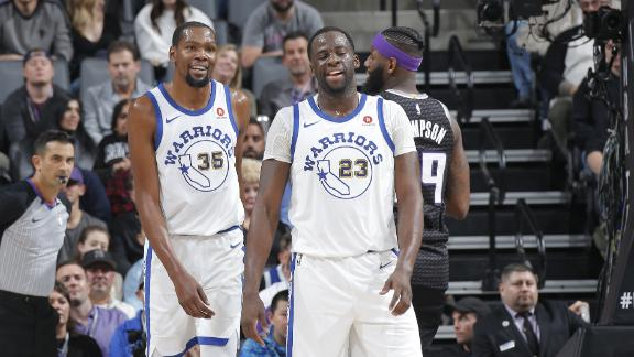 Durant leads Warriors past Kings