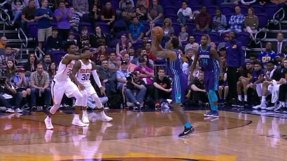 Graham hits dagger for Hornets' win