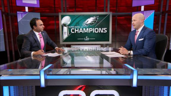 Hasselbeck says Foles played a Brady-esque performance