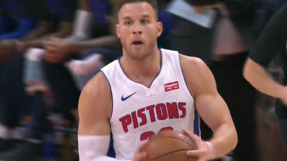 Griffin connects with Drummond on alley-oop