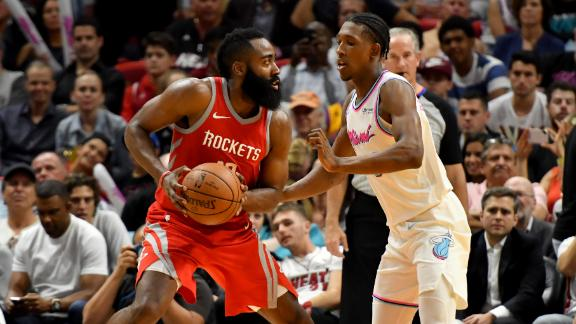 Harden's heroics lead Rockets to victory