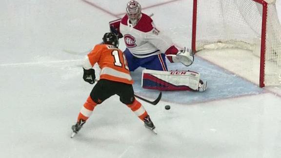 Konecny nets 2 in Flyers' win