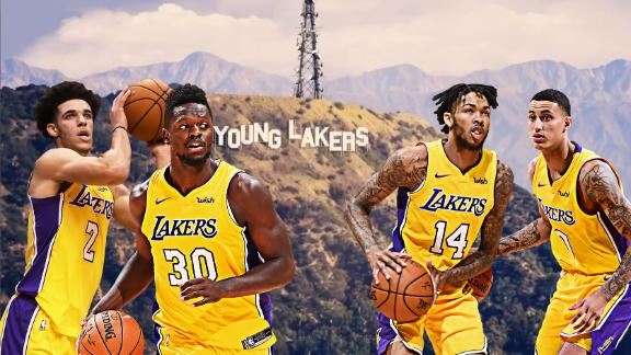 Lakers' future looks bright thanks to young core
